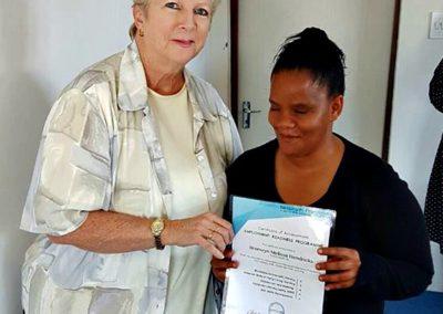 Bronwyn Certificate