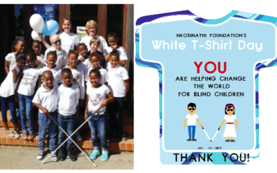 White T-shirt Day – 27 March 2018