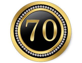 70th Birthday Celebration – TBA